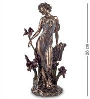 Ws-624 статуэтка дама (альфонс муха)