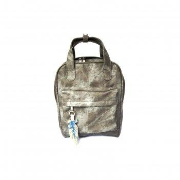Рюкзак volcan, серый джинс