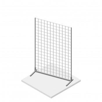 Сетка-стойка, настольная, 900*600, 3мм, цвет белый