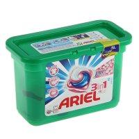 Гель для стирки ariel в капсулах  liquid capsules touch of lenor fresh, 15