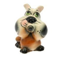 Статуэтка собака №3 глазурь