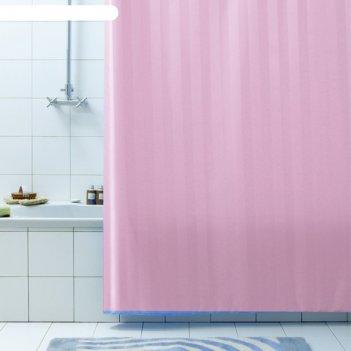 Штора для ванной rigone, 180х200 см, розовый