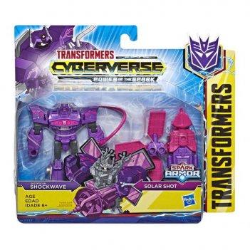 Transformers фигурка трансформеры кибервселенная спарк армор 13см  (в ассо