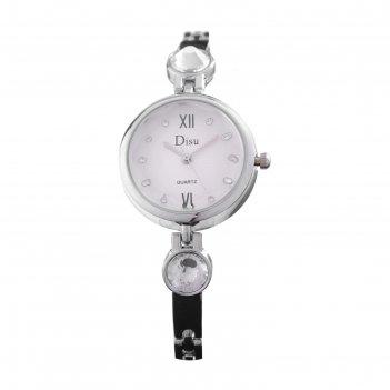 Часы наручные женские disu, d=2.3 см, микс