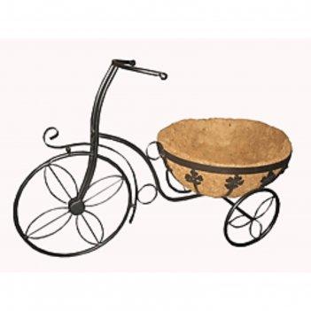 Кашпо из коковиты велосипед 63*31*41см