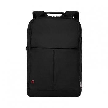 Рюкзак для ноутбука 16'' wenger, черный, нейлон/полиэстер, 31 x
