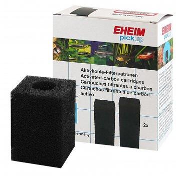 Картридж для фильтра eheim pickup 60 поролон угольный, 2 шт/уп