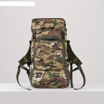 Рюкзак кодар, 40л, отд на молнии, 3 н/кармана, мультикам