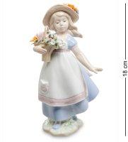 Jp-22/31 статуэтка девушка с цветами (pavone)