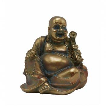 Фигурка декоративная будда, l8 w6 h8 см