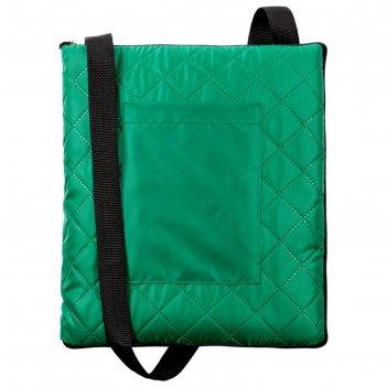 Плед для пикника soft   dry, размер 115x145 см, цвет зелёный
