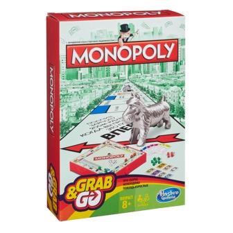 Настольная игра hasbro gaming b1002121 монополия дорожная