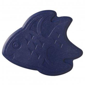 Мини-коврики для ванны slip-not xxs 6 шт, цвет синий