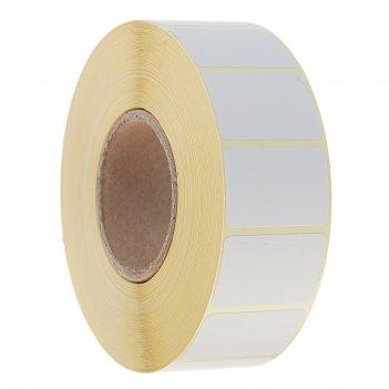 Термоэтикетка 30х20 мм, диаметр втулки 40мм, 1800 штук