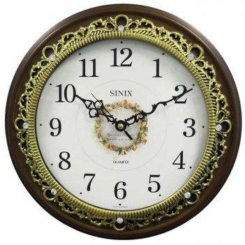 Часы настенные для дома и офиса sinix 5091g