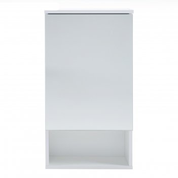 Зеркало-шкаф вега 4002 белое, 40 х 136 х 70 см