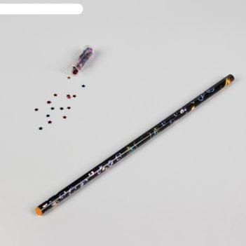 Карандаш для страз парафиновый, цвет чёрный