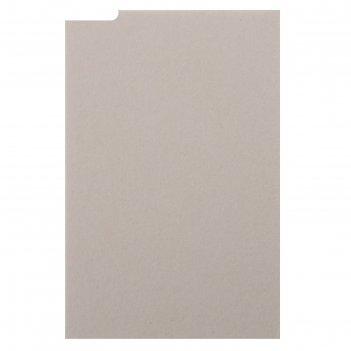 Пивной картон для творчества (набор 10 листов) 10х15 см, толщина 1,2-1,5 м