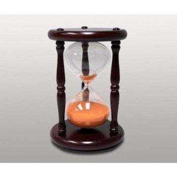 Часы песочные на 20 минут с оранжевым песком