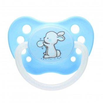 Пустышка силиконовая canpol babies little cuties, ортодонтическая, от 6-18