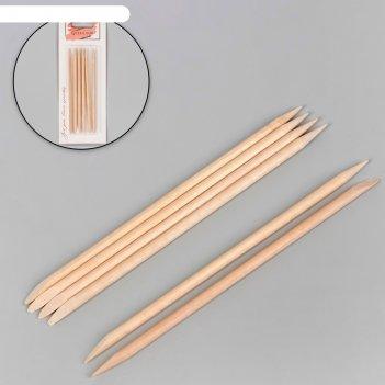 Апельсиновые палочки для маникюра, 11,4 см, 6 шт