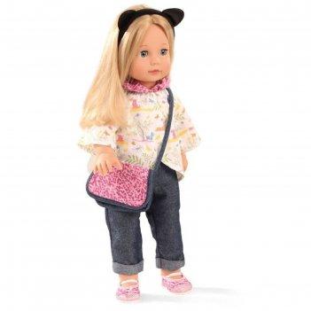 Кукла джессика, блондинка в одежде, 46см