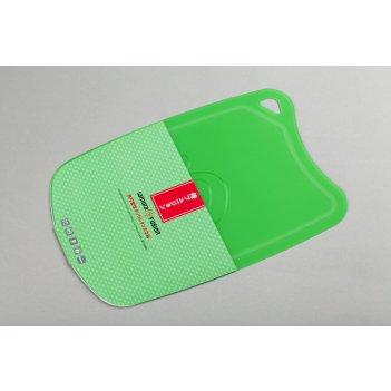 Доска термопластиковая с антибактериальным покрытием (зеленый) samura fusi