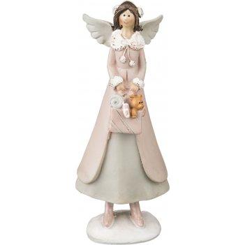 Фигурка ангелочек 5,5*4,5*14 см (кор=48шт.)