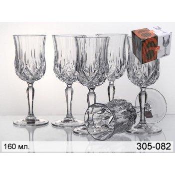 Набор бокалов для вина из 6 шт. опера 160 мл. высота=17 см. (кор=1набор.)