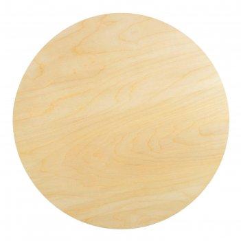 Планшет круглый деревянный фанера 2см d-50 см calligrata