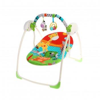 Качели детские электрические «зебра»