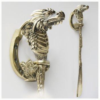 Ложка для обуви дракон