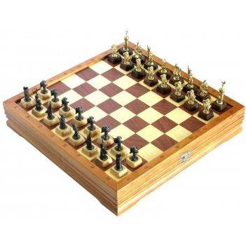 Шахматы малые крестоносцы чернение