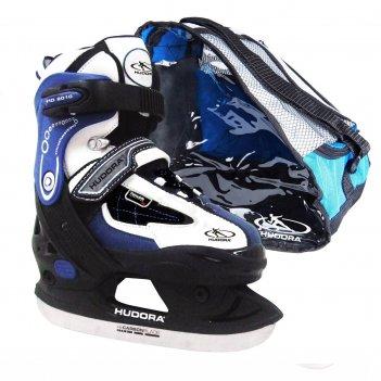 Раздвижные коньки hudora set hd синие