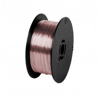 Проволока сварочная кратон 1 19 02 004, стальная, омедненная, 0.6 мм, 1 кг
