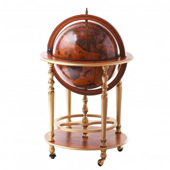 Глобус-бар напольный каравелла, d 42 см