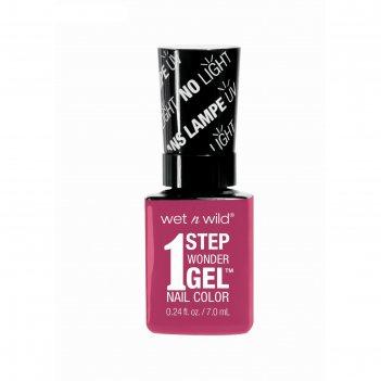Гель-лак для ногтей wet n wild 1 step wonder gel e7231 it`s sher-bert day,