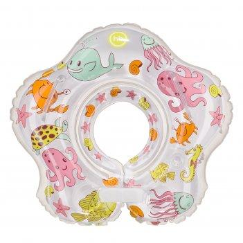 Aquafun круг для плавания возраст: от 3 месяцев