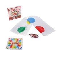 Игра 2 в 1 твистер + карты мафия