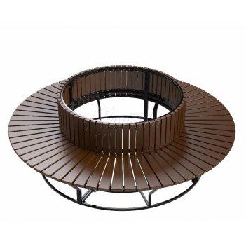 Диван стальной  «круглый» r550