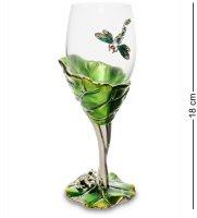 Win-158 бокал для вина лотос с лягушкой