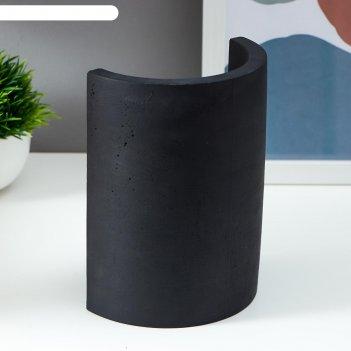 Настольная лампа 16247/1bk е27 60вт черный 10х13,5х18 см