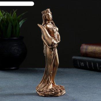 Статуэтка фортуна 18см бронза