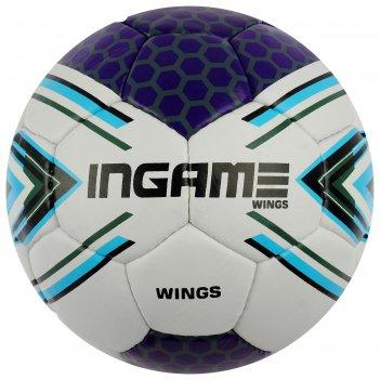 Мяч футбольный ingame wings, размер 5, цвета микс