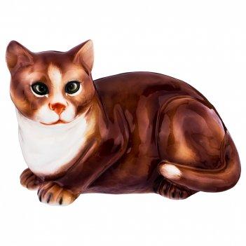 Декоративное изделие кошка 27*15см. высота=19см.