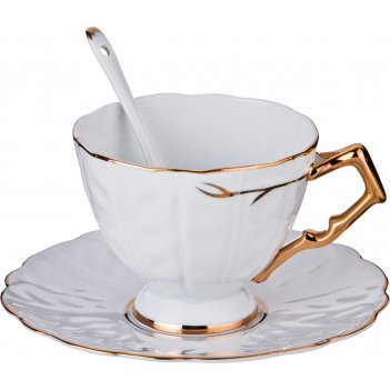 Чайный набор на 1 персону 3 пр. 300 мл. (кор=24набор.)