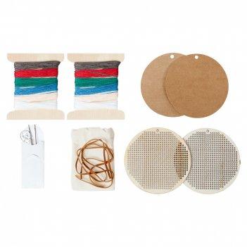 Набор для вышивания «елочная игрушка»