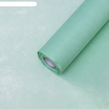 Фетр однотонный, оливковый, 0,5 x 15 м