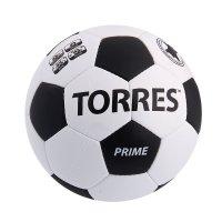 Мяч футбольный torres prime, р.5, бело-черный