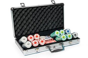 Empire 300 профессиональный набор для покера на 300 фишек